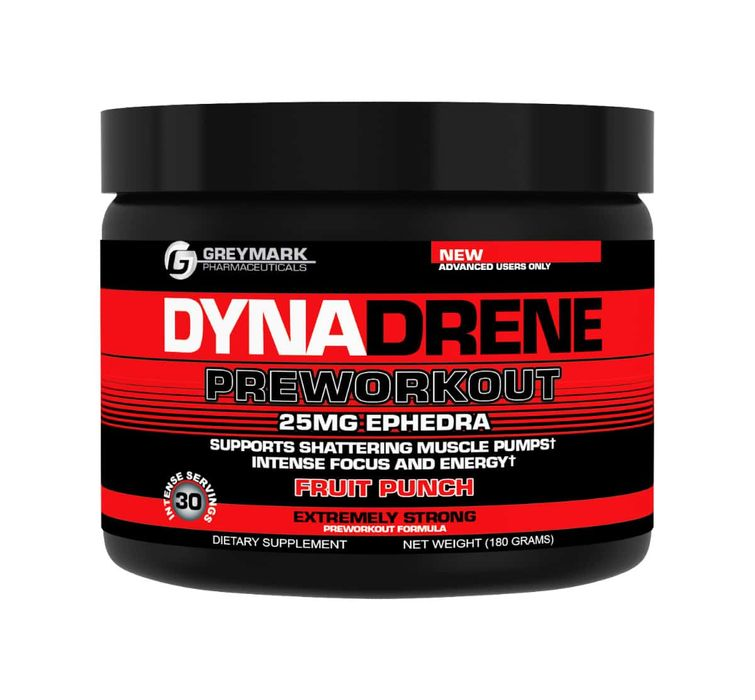 INNOVATIVE DIET LABS DYNADRENE PREWORKOUT 30 SERV